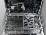 60 cm Privileg teilintegriert Spülmaschine Geschirrspüler weiße Bedienblende