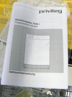 Spülmaschine Teilintegriert Blende in Edelstahl Neu Privileg Geschirrspüler 60cm