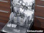 Spülmaschine Teilintegriert Geschirrspüler Spüler Edelstahl Bedienblende OVP Neu