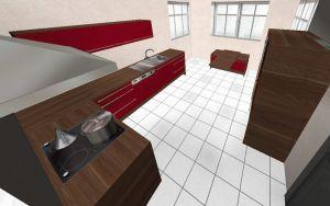 alno ag l k che sideboard sitzbank demischrankzeile elektroger te bordeaux ebay. Black Bedroom Furniture Sets. Home Design Ideas