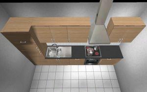 3,37-3,57 meter küchenzeile barrique eiche apl beton küche ... - Küche 3 Meter