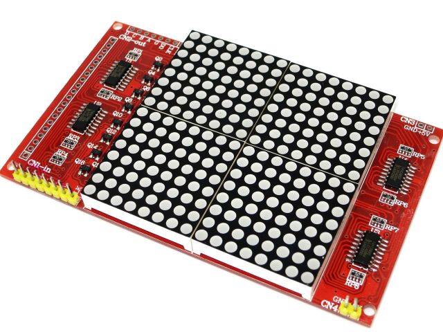 16x16 LED Lattice Screen Dot Matrix Port12864 Compatible