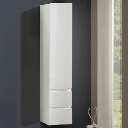 neu badezimmer hochschrank hochglanz wei lack badschrank. Black Bedroom Furniture Sets. Home Design Ideas