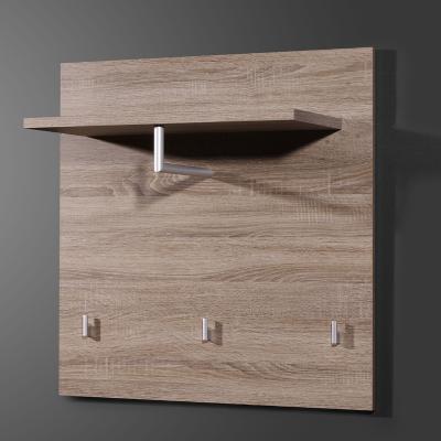neu flur garderobe eiche dunkel flurm bel wandgarderobe. Black Bedroom Furniture Sets. Home Design Ideas