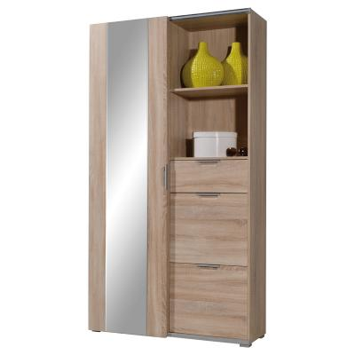 neu flur garderobe in eiche sonoma schuhschrank. Black Bedroom Furniture Sets. Home Design Ideas