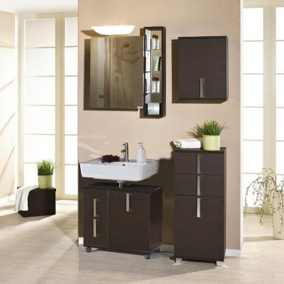 badezimmer 5 tlg raya esche braun badm bel badezimmerm bel bad spiegelschrank ebay. Black Bedroom Furniture Sets. Home Design Ideas