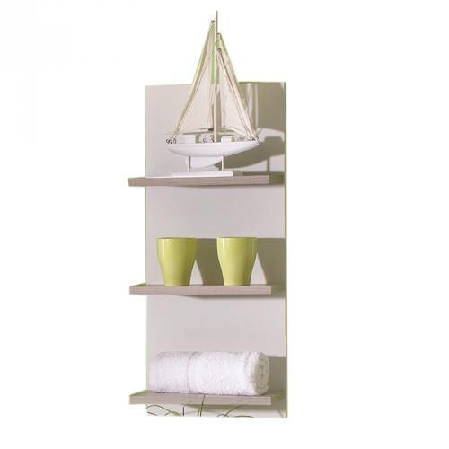 badezimmer haengeregal zebrino beige badmoebel gaeste wc regal bad ablage. Black Bedroom Furniture Sets. Home Design Ideas