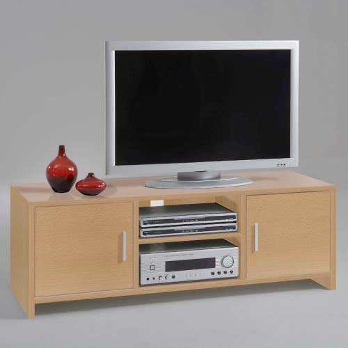 tv lowboard fernsehtisch buche nachbildung tv kommode wohnzimmer ebay. Black Bedroom Furniture Sets. Home Design Ideas