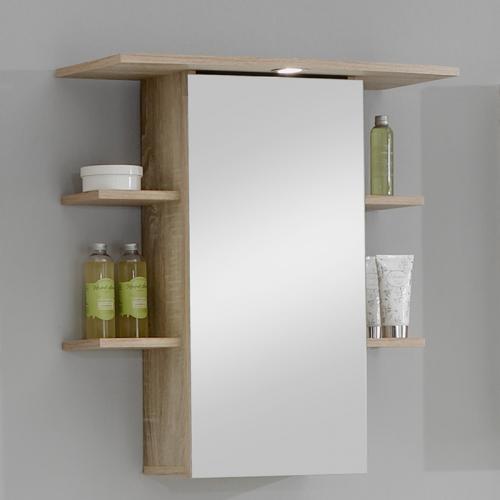 neu spiegelschrank in eiche s gerau badezimmer bad spiegel badm bel badspiegel ebay. Black Bedroom Furniture Sets. Home Design Ideas