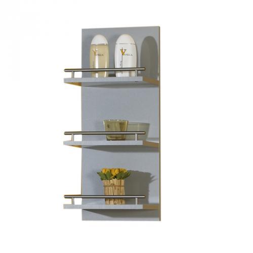 badezimmer h ngeregal anthrazit bad badm bel badset g ste wc ablage regal ebay. Black Bedroom Furniture Sets. Home Design Ideas