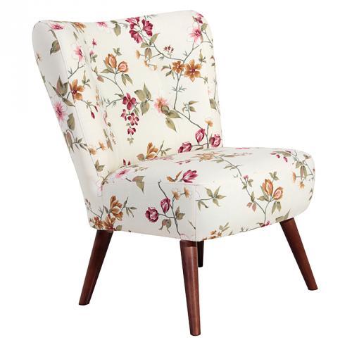 neu exkl clubsessel blumen design loungesessel sessel retrosessel cocktailsessel ebay. Black Bedroom Furniture Sets. Home Design Ideas