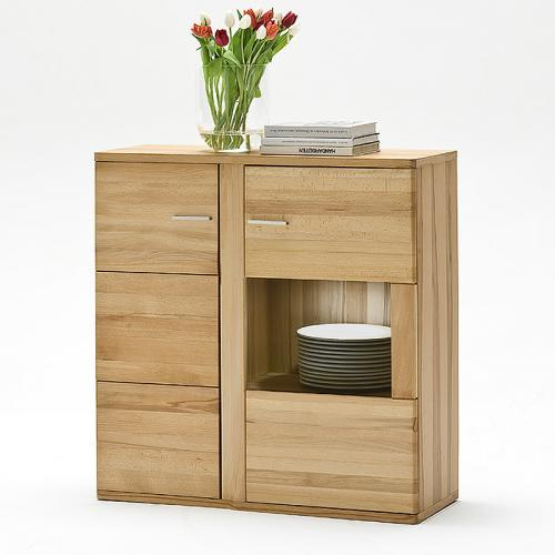 wow highboard kernbuche massiv ge lt montiert kommode anrichte schrank sideboard ebay. Black Bedroom Furniture Sets. Home Design Ideas