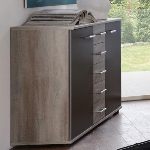 schubladen kommode schrank sideboard anrichte komode schlafzimmer landhaus ebay. Black Bedroom Furniture Sets. Home Design Ideas