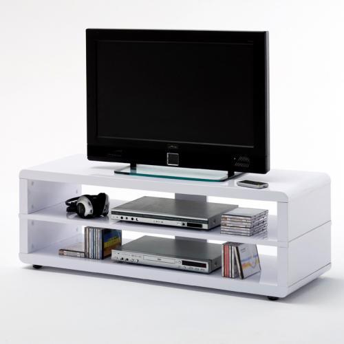 wow lowboard hochglanz wei wohnzimmer fernsehtisch tv. Black Bedroom Furniture Sets. Home Design Ideas