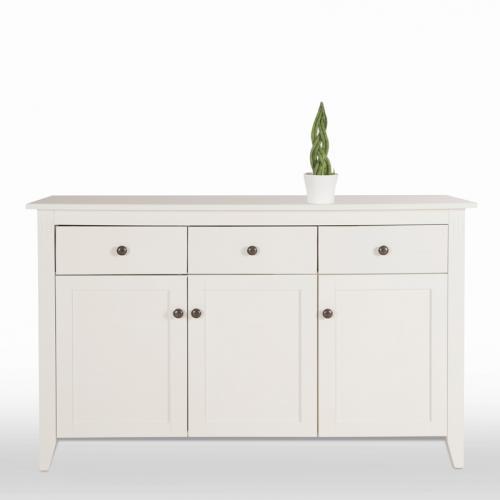 sideboard wei wohnzimmerschrank kommode sideboard esszimmer schrank anrichte ebay. Black Bedroom Furniture Sets. Home Design Ideas