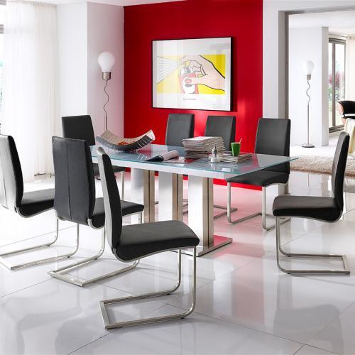 esszimmer glastisch ausziehbar glas innenr ume und m bel ideen. Black Bedroom Furniture Sets. Home Design Ideas