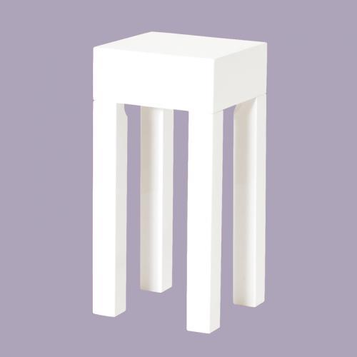 beistelltisch hochglanz wei telefontisch lampentisch blumentisch couchtisch ebay. Black Bedroom Furniture Sets. Home Design Ideas