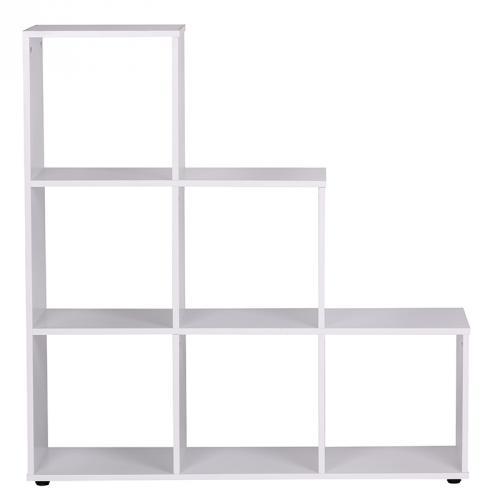 wohnzimmer regal weiß: -weiss-lackiert-MDF-Wandregal-Regal-Standregal-Raumteiler-Wohnzimmer