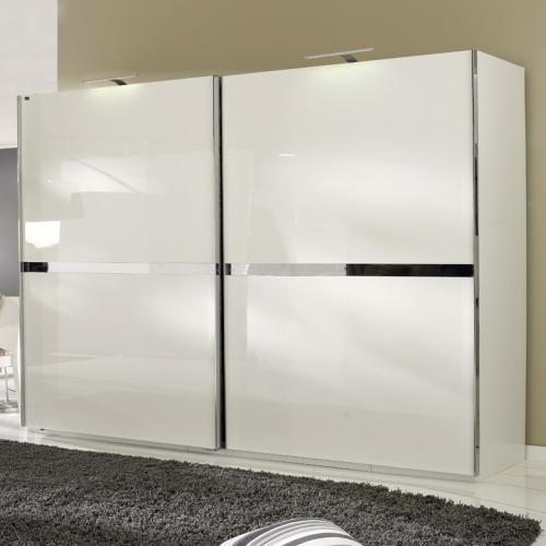 neu 300cm kleiderschrank hochglanz wei schlafzimmer. Black Bedroom Furniture Sets. Home Design Ideas