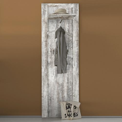 garderobenpaneel vintage pine wandpaneel flurpaneel wandgarderobe flurgarderobe ebay. Black Bedroom Furniture Sets. Home Design Ideas