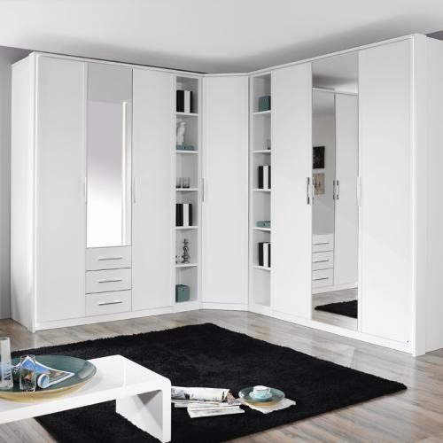 komplett schlafzimmer eck schrank schranksystem. Black Bedroom Furniture Sets. Home Design Ideas