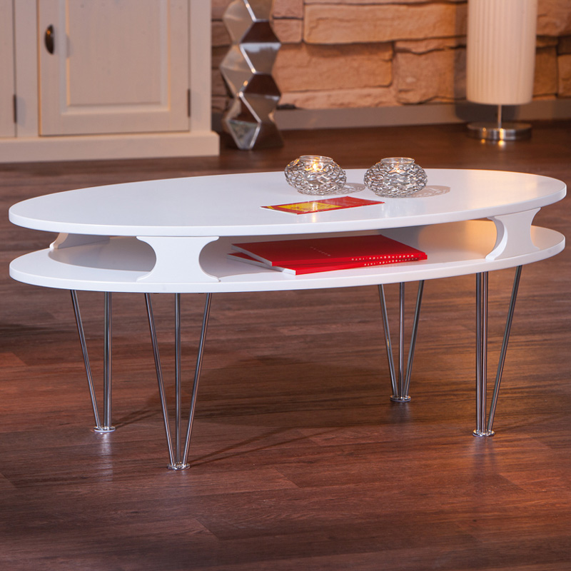couchtisch matt wei sofatisch beistelltisch wohnzimmertisch wohnzimmer tisch. Black Bedroom Furniture Sets. Home Design Ideas