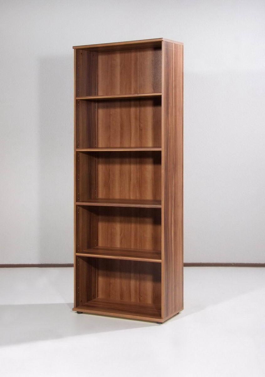 top b roregal aktenregal regal walnuss ordnerregal b roeinrichtung aktenarchiv ebay. Black Bedroom Furniture Sets. Home Design Ideas