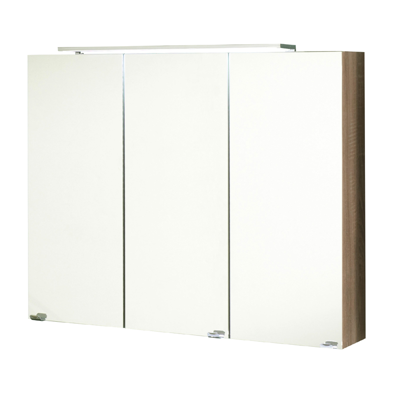 badezimmer spiegelschrank eiche badschrank badspiegel badezimmerm bel schrank. Black Bedroom Furniture Sets. Home Design Ideas