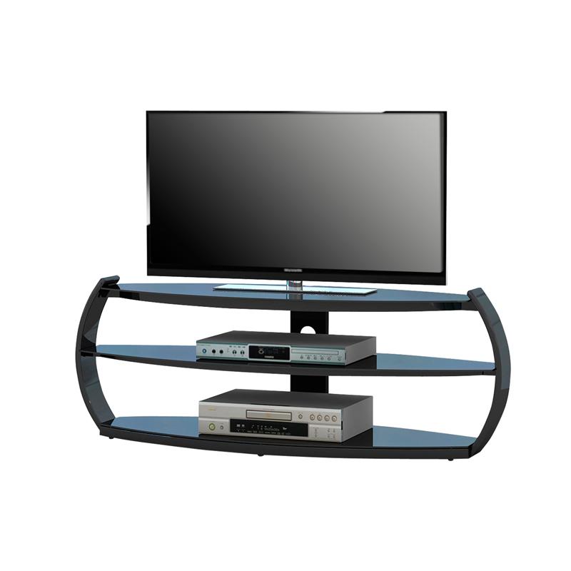 Lowboard schwarz fernsehtisch tv tisch m bel hifi rack - Kinderzimmermobel ebay ...