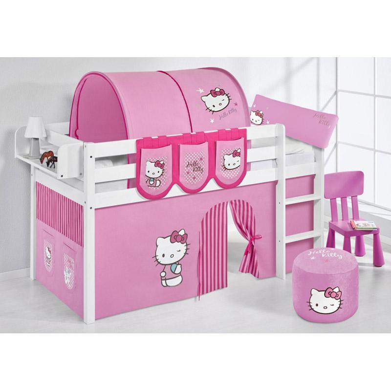 hochbett set massiv zubeh r hello kitty rosa etagenbett. Black Bedroom Furniture Sets. Home Design Ideas