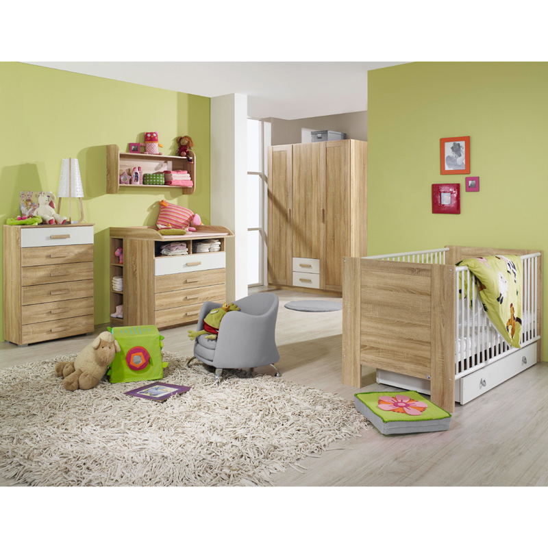 wandboard wandregal h ngeregal regal kinderzimmer eiche sonoma kinderm bel board. Black Bedroom Furniture Sets. Home Design Ideas