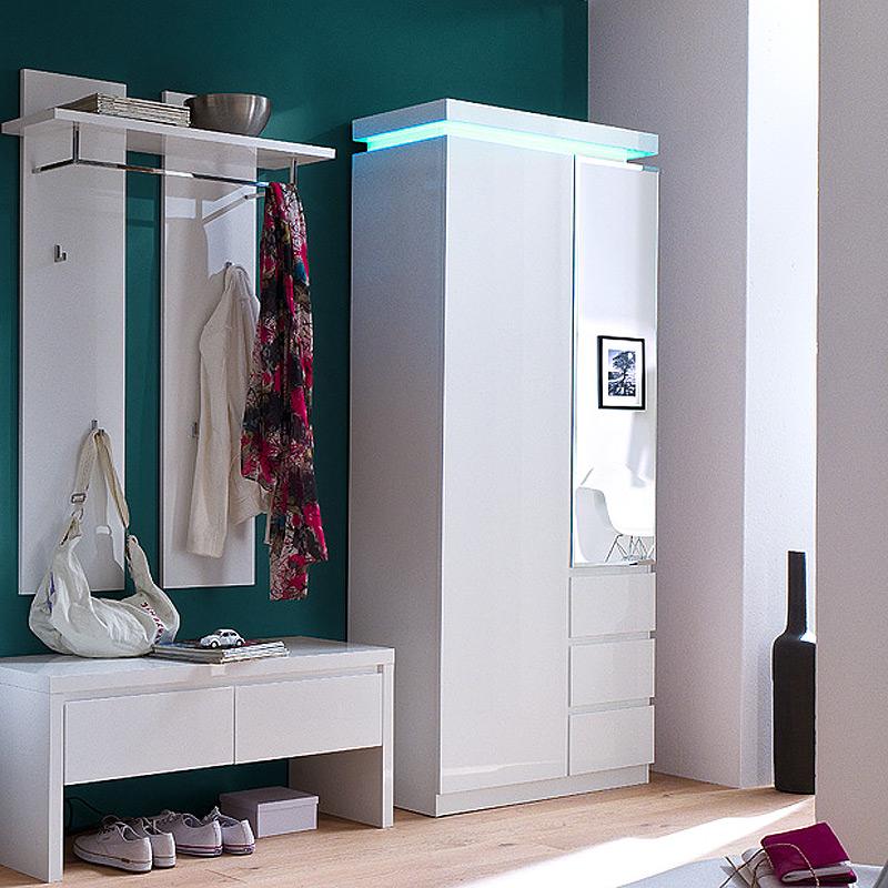 weisse bank flur interior design und m bel ideen. Black Bedroom Furniture Sets. Home Design Ideas