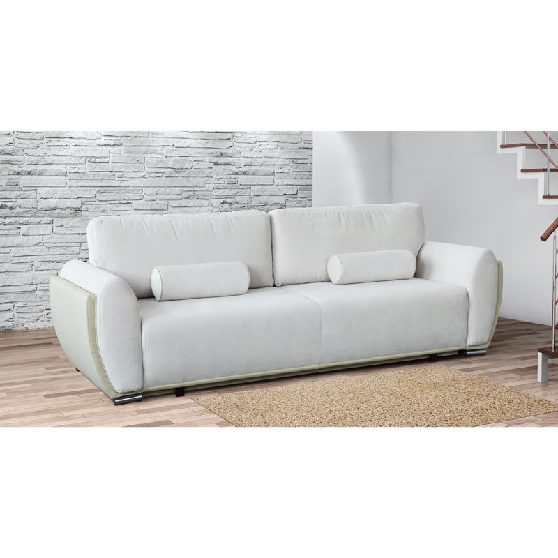 3 er sofa kunstleder couch klasppsofa schlafsofa clubsofa schlafcouch g stebett ebay. Black Bedroom Furniture Sets. Home Design Ideas