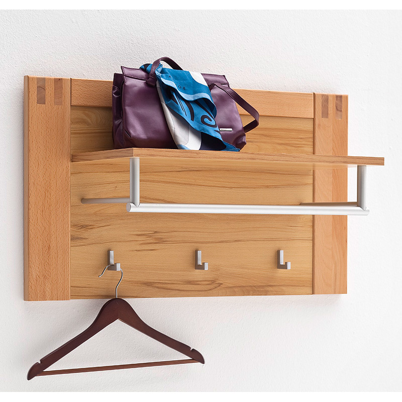 Garderobenpaneel kernbuche massiv flurm bel wandgarderobe - Kinderzimmermobel ebay ...