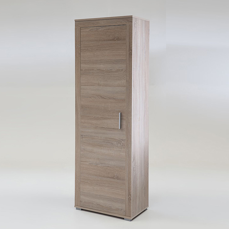 garderobenschrank eiche sonoma flur kleiderschrank dielenschrank flurschrank ebay. Black Bedroom Furniture Sets. Home Design Ideas