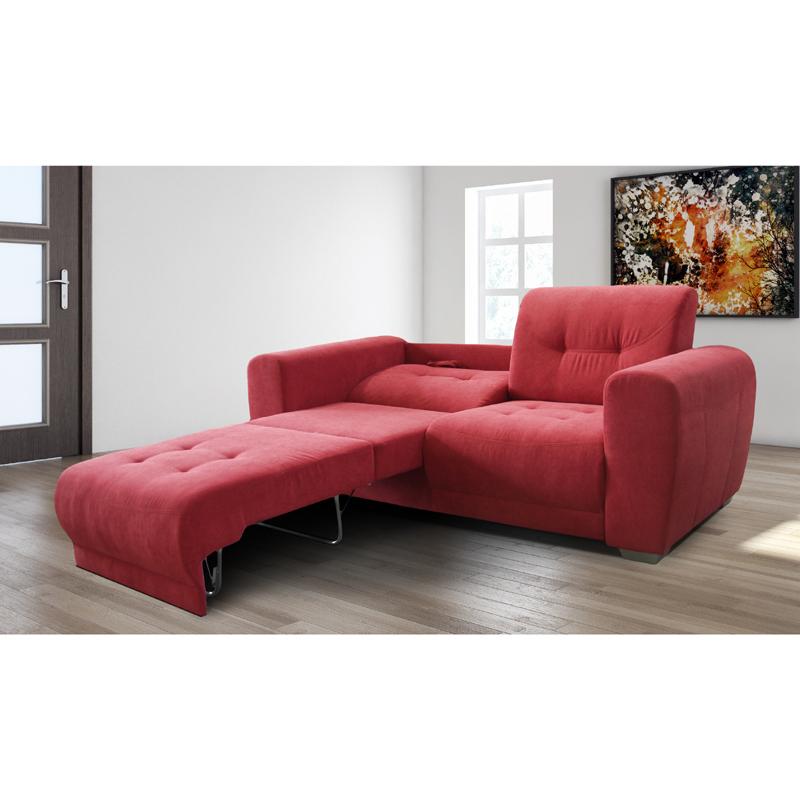 2 sitzer rot schlafsofa funktionssofa relaxsofa garnitur - Kinderzimmermobel ebay ...