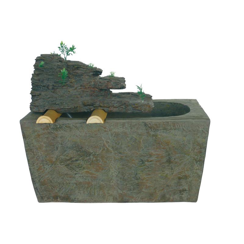 brunnen polyresin gartenbrunnen dekobrunnen terrassenm bel. Black Bedroom Furniture Sets. Home Design Ideas