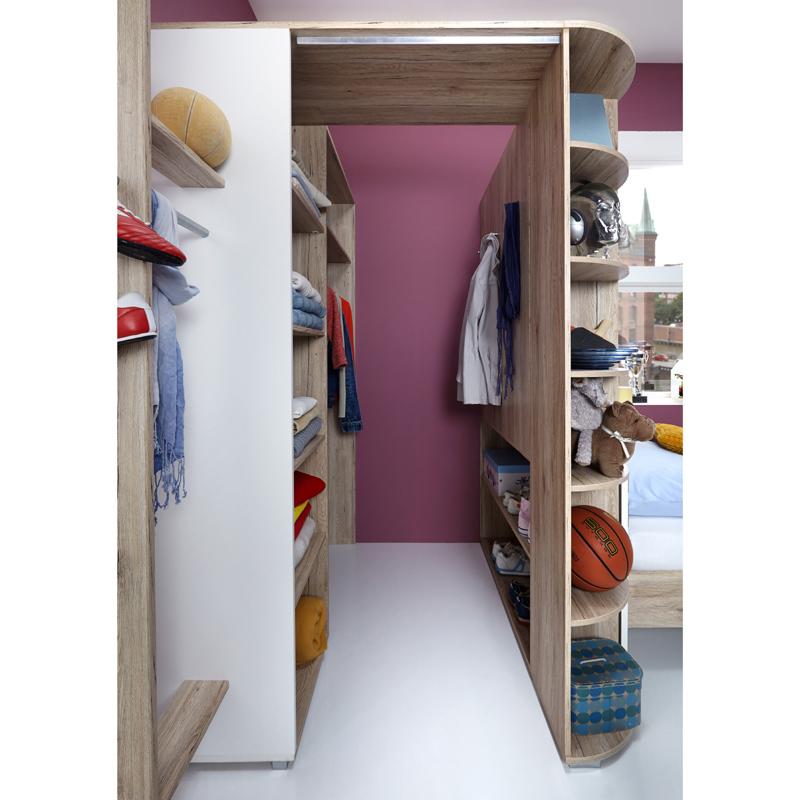 kleiderschrank eckschrank eiche begehbar jugendzimmer. Black Bedroom Furniture Sets. Home Design Ideas
