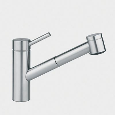 design kwc k chenarmatur armatur edelstahl auszug neu ebay. Black Bedroom Furniture Sets. Home Design Ideas