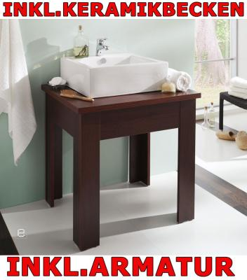 bad waschtisch waschplatz g ste wc m becken armatur ebay. Black Bedroom Furniture Sets. Home Design Ideas