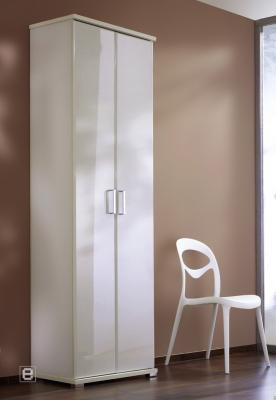 neu garderoben mehrzweckschrank kleiderschrank hochglanz wei flurschrank diele ebay. Black Bedroom Furniture Sets. Home Design Ideas