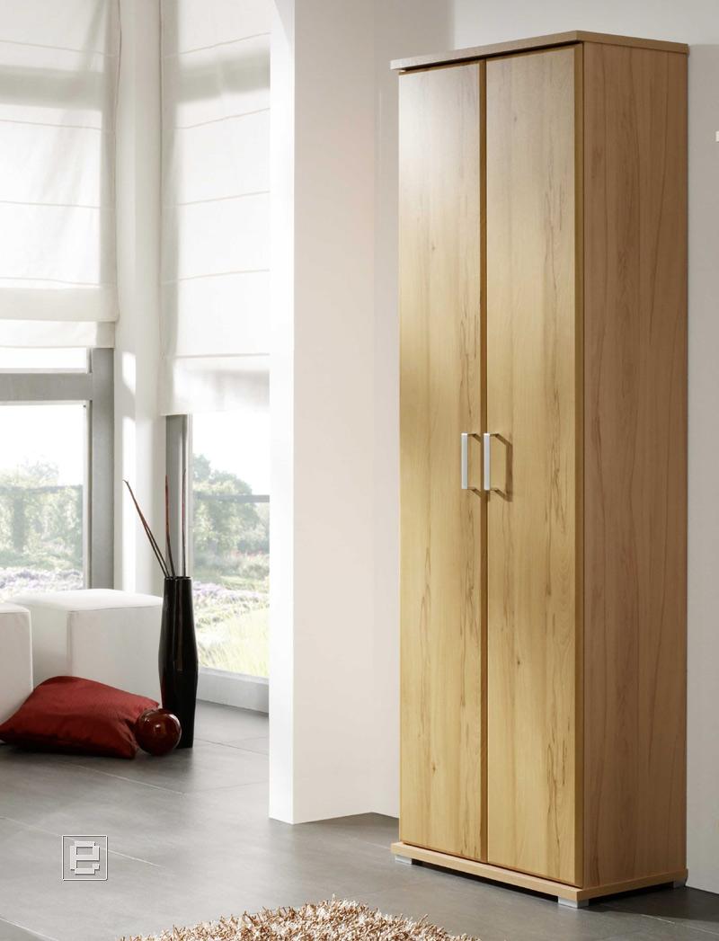 neu garderoben mehrzweckschrank flur kleiderschrank kernbuche dielenschrank ebay. Black Bedroom Furniture Sets. Home Design Ideas