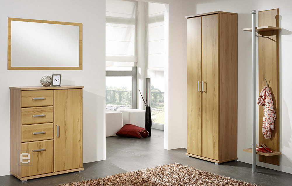 moderne garderobe kleiderschrank kommode spiegel hochglanz. Black Bedroom Furniture Sets. Home Design Ideas
