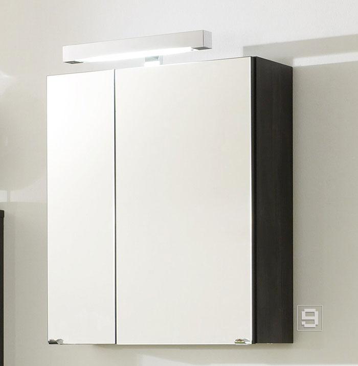 top badm bel spiegelschrank badezimmer spiegel anthrazit steckdose beleuchtung ebay. Black Bedroom Furniture Sets. Home Design Ideas