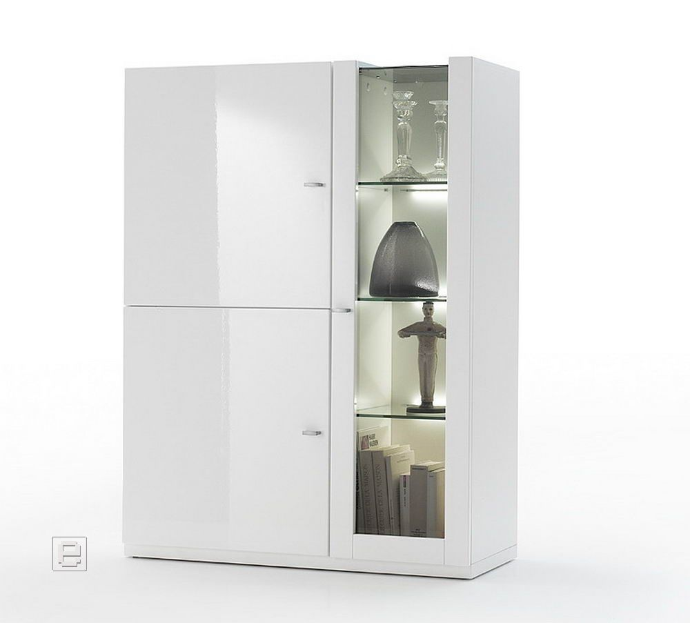 Esszimmerschrank weiß hochglanz  Esszimmerschrank Weiß Hochglanz ~ Inspiration über Haus Design