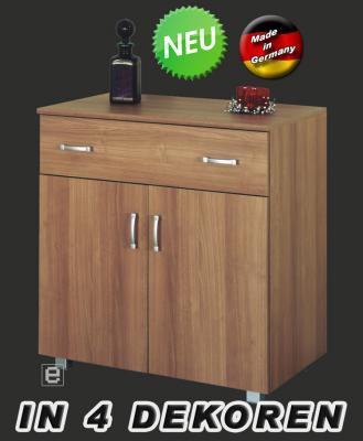 Neu sideboard kommode mehrzweckschrank b 82cm noce nb ebay - Kommode noce ...