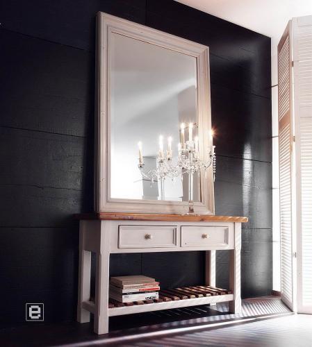 top edles flurm bel set kommode spiegel in wei honig. Black Bedroom Furniture Sets. Home Design Ideas