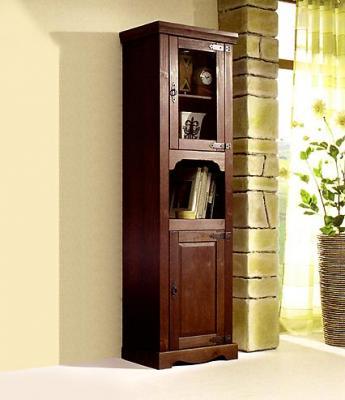 Neu wohnzimmer vitrine anrichte highboard standvitrine kiefer massiv kolonial ebay - Wohnzimmer kolonial ...