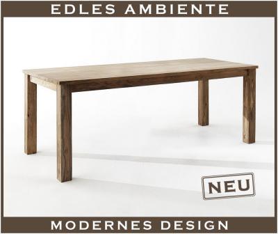 neu esstisch tisch massiv sheesham ausziehbar 200cm ebay. Black Bedroom Furniture Sets. Home Design Ideas
