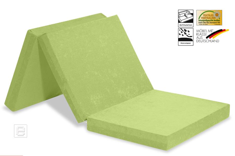neu faltmatratze klappmatratze reisebett g stebett g ste matratze brombeer ebay. Black Bedroom Furniture Sets. Home Design Ideas
